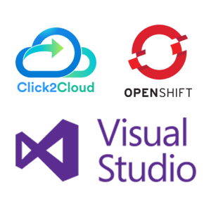 Click2Cloud OpenShift Extension for Visual Studio IDE integration with Alibaba Cloud Services