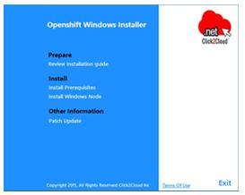 OpenShift 2 Windows Node Installer