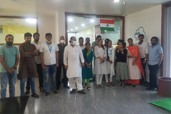 Click2Cloud has celebrated India's 74th independence day on Aug 15 2020