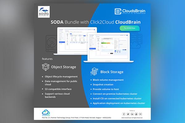 SODA Foundation Integration with CloudBrain