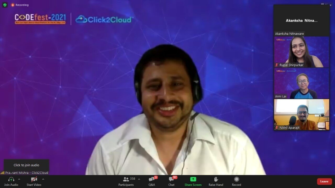 Click2Cloud's Joint International Hackathon 2019