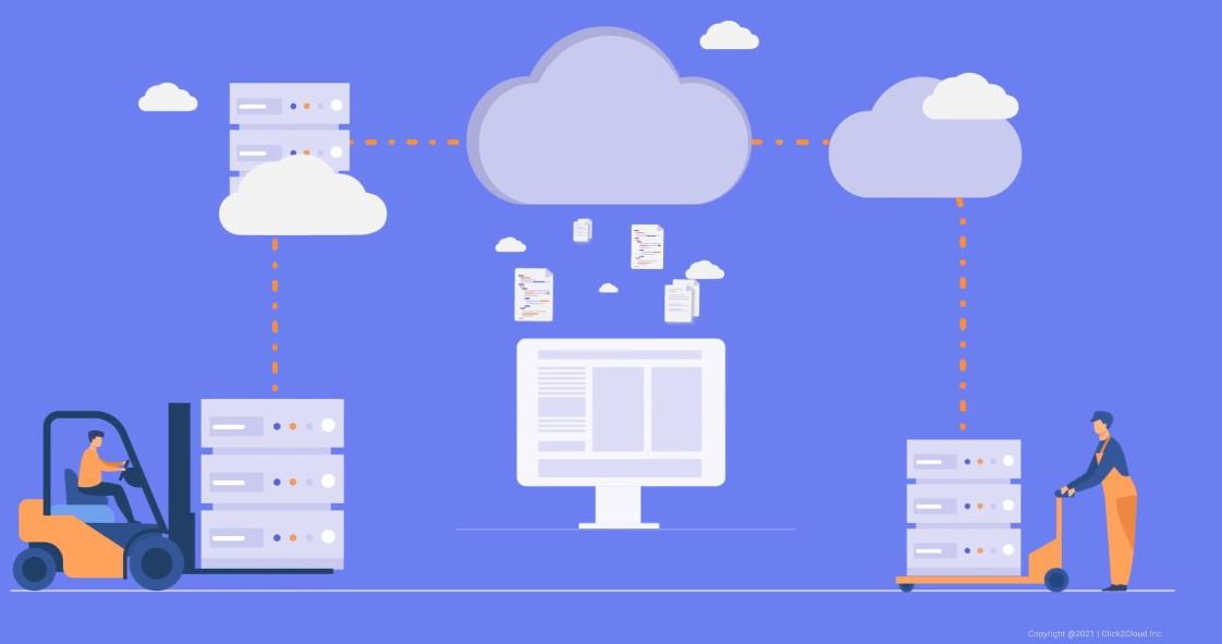 Click2cloud_Application Migration using Lift and Shift via CloudsBrain_Video